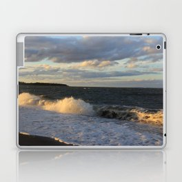 Autumn Crashing Waves - Photography Laptop & iPad Skin