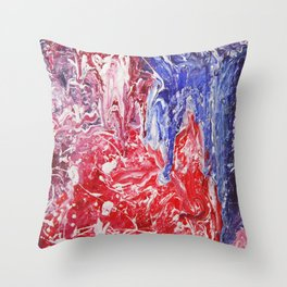 Inferno II Throw Pillow