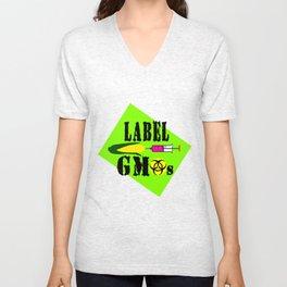 Label gmo s Unisex V-Neck