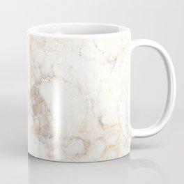 Marble Yellow Brown Pattern Coffee Mug