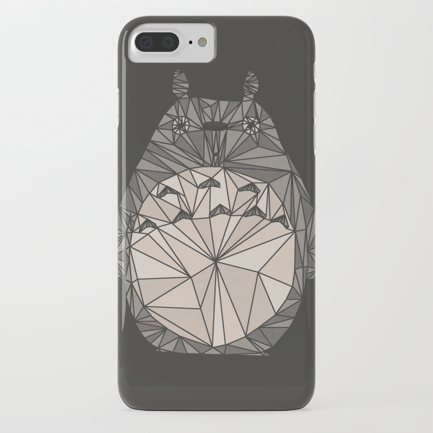 outlet store 1a311 acc80 totoro wireframe iPhone Case