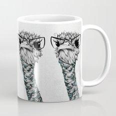 Poetic Ostrich  Mug