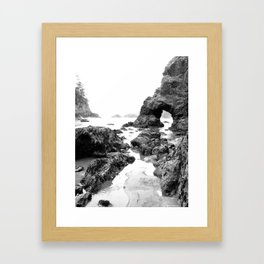 Low Tide Mariner by Jessi Fikan Framed Art Print