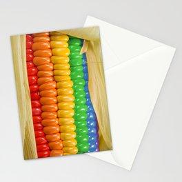 Rainbow Corn Stationery Cards