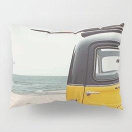 Summer surfing Pillow Sham