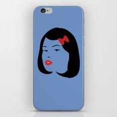 Girl #4 iPhone & iPod Skin