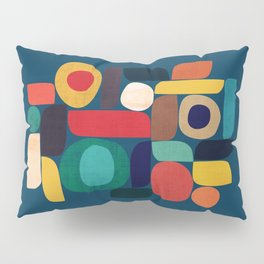 Miles and miles Pillow Sham