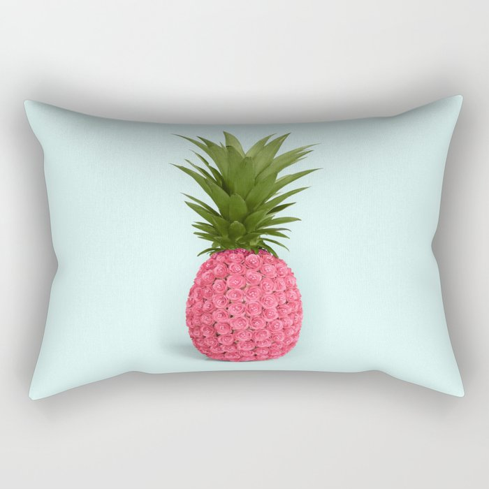 PINEAPPLE ROSES Rectangular Pillow