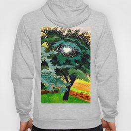 Charles Burchfield Luminous Tree Hoody