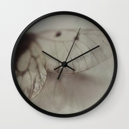 Papery Wall Clock