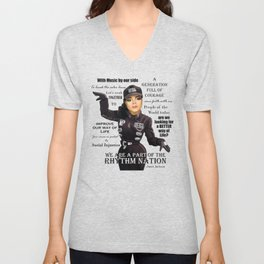 JJ Quote shirt for Donovan Unisex V-Neck