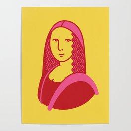 Mona Lisa Pop Art Poster