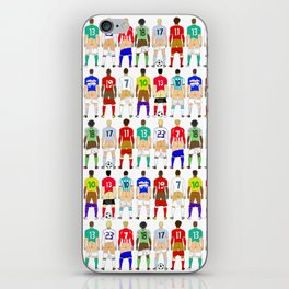 Soccer Butts iPhone Skin