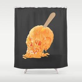 Popsicle Skull Shower Curtain