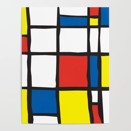 Mondrian Variation 2 Poster