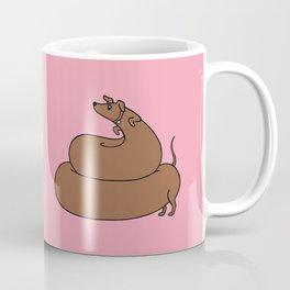 Poopy wiener Coffee Mug