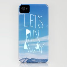 Let's Run Away: Mount Rainier Slim Case iPhone (4, 4s)