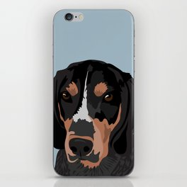 Doc Bluetick Coonhound iPhone Skin