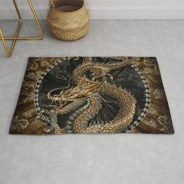 Dragon Pentagram Rug