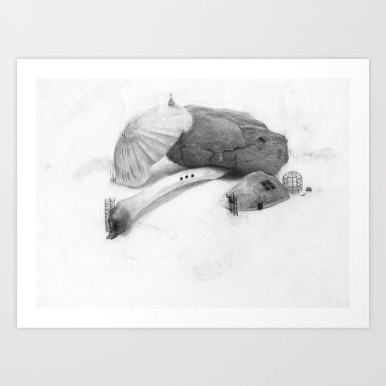 Parallel Microverse Art Print