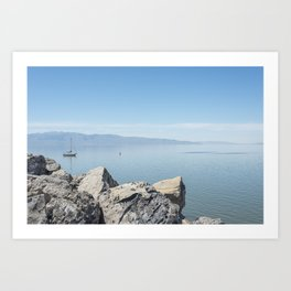 Floating/Brine Art Print
