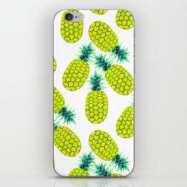Pineapple Vibrant Yellow iPhone Skin