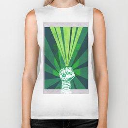 Green Lantern's light Biker Tank