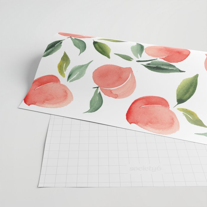 peaches Wrapping Paper