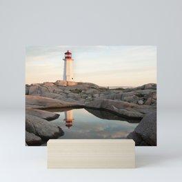 Peggy's Cove, Nova Scotia || Beach Print, Beach Coastal Wall Art, Ocean Photography, Peg Mini Art Print