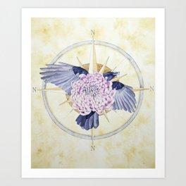 Unfurl - Unravel Series Art Print