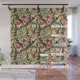 North American Forest Pattern (Natural) Wall Mural