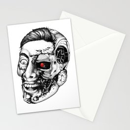 The all new Terminators. The genius. Stationery Cards