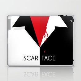 Scarface Minimalist Movie Poster Laptop & iPad Skin