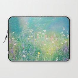 Mountain Wildflowers Laptop Sleeve