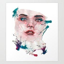 Nefelibata Art Print