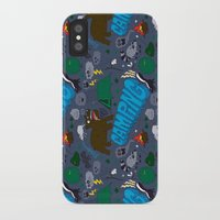 camping iPhone & iPod Cases featuring Camping by Chris Piascik
