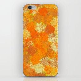 Pumpkin Tumbleweeds iPhone Skin
