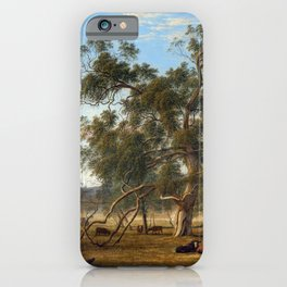 John Glover Patterdale Landscape with Cattle iPhone Case
