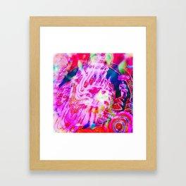 Kaleido-Ganesh Framed Art Print