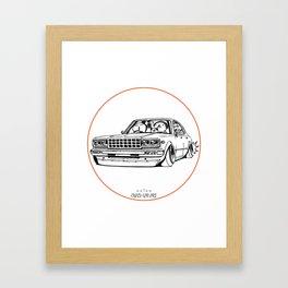 Crazy Car Art 0210 Framed Art Print