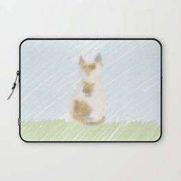A cute calico cat Laptop Sleeve