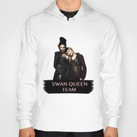 swan queen Hoodies featuring Swan Queen Team by Geek World