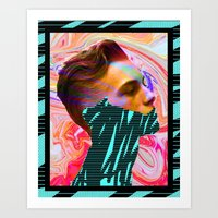 tyler spangler Art Prints featuring DAVID MARINOS x TYLER SPANGLER by David Marinos