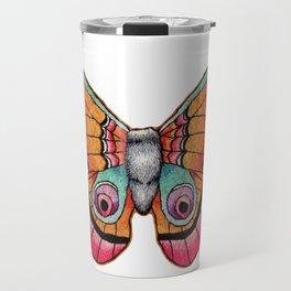 Embroidered Moth Travel Mug