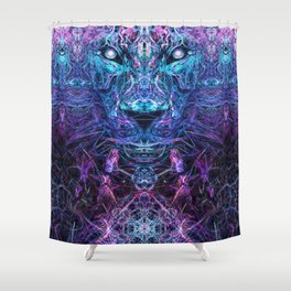 Jaguar's Delirium Shower Curtain