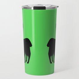 Angry Animals: llama Travel Mug
