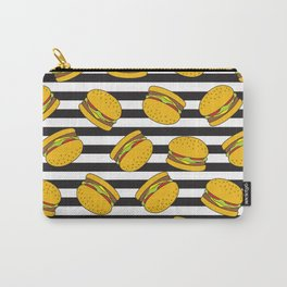 Burger Stripes By Everett Co Carry-All Pouch
