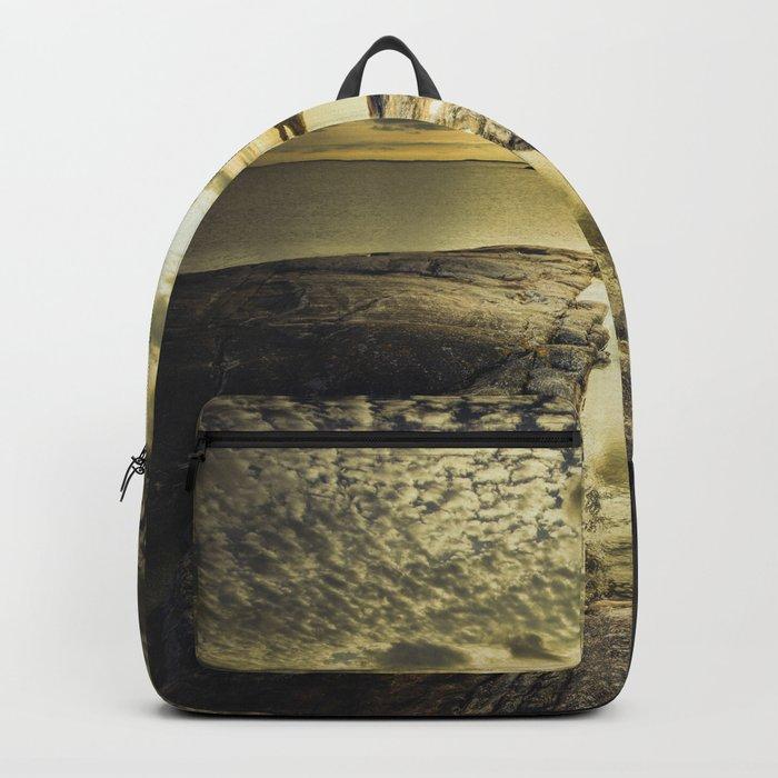 Good night sweet sun Backpack