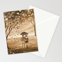 Couples in Love Stationery Cards