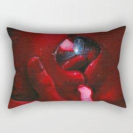 Blue Pill Rectangular Pillow